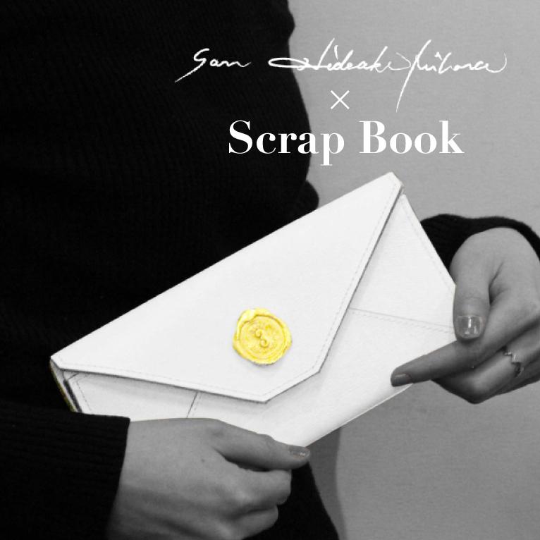 Scrap Bookオープンにあわせたお財布ポップアップショップのお知らせ